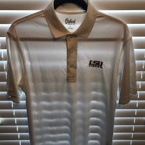 White Oxford America LSU collared shirt